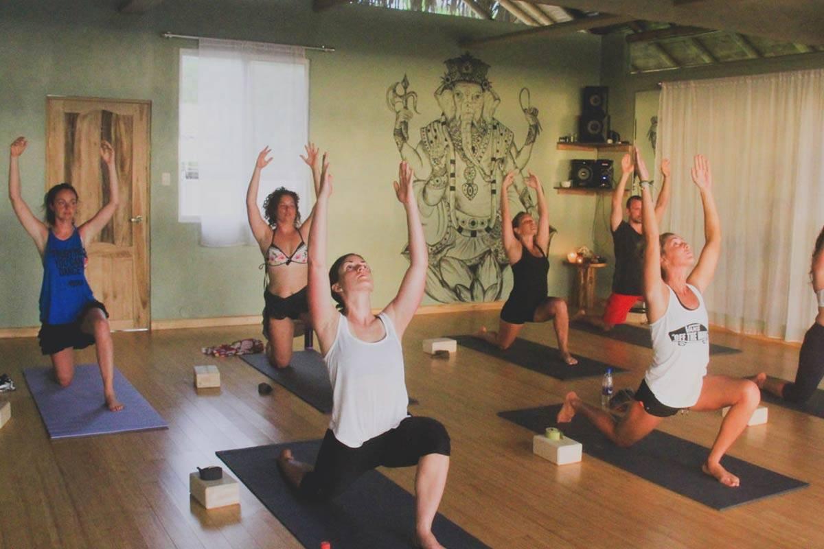 Yoga classes ecuador