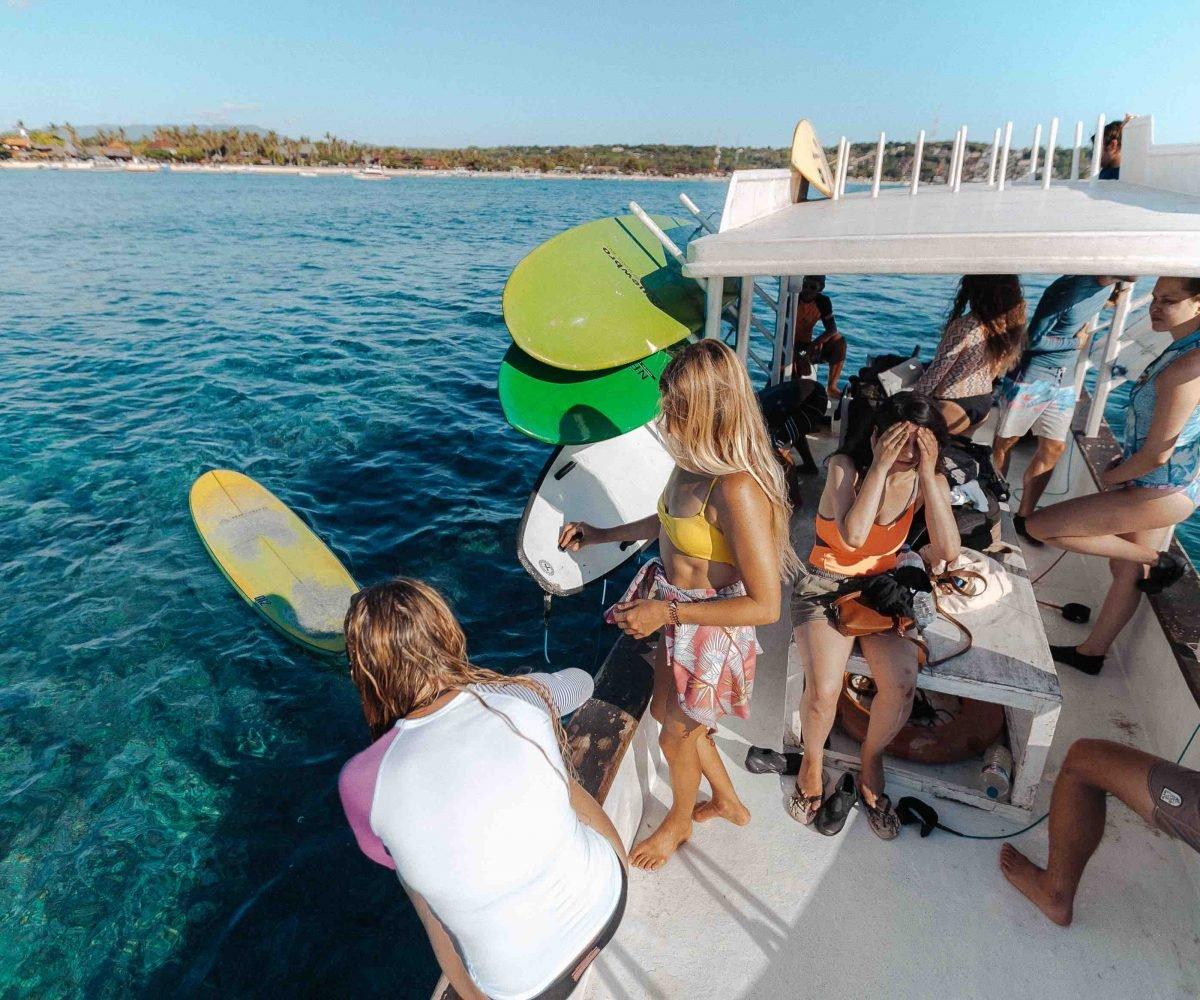 Surf Boat Trips Learn Longboard