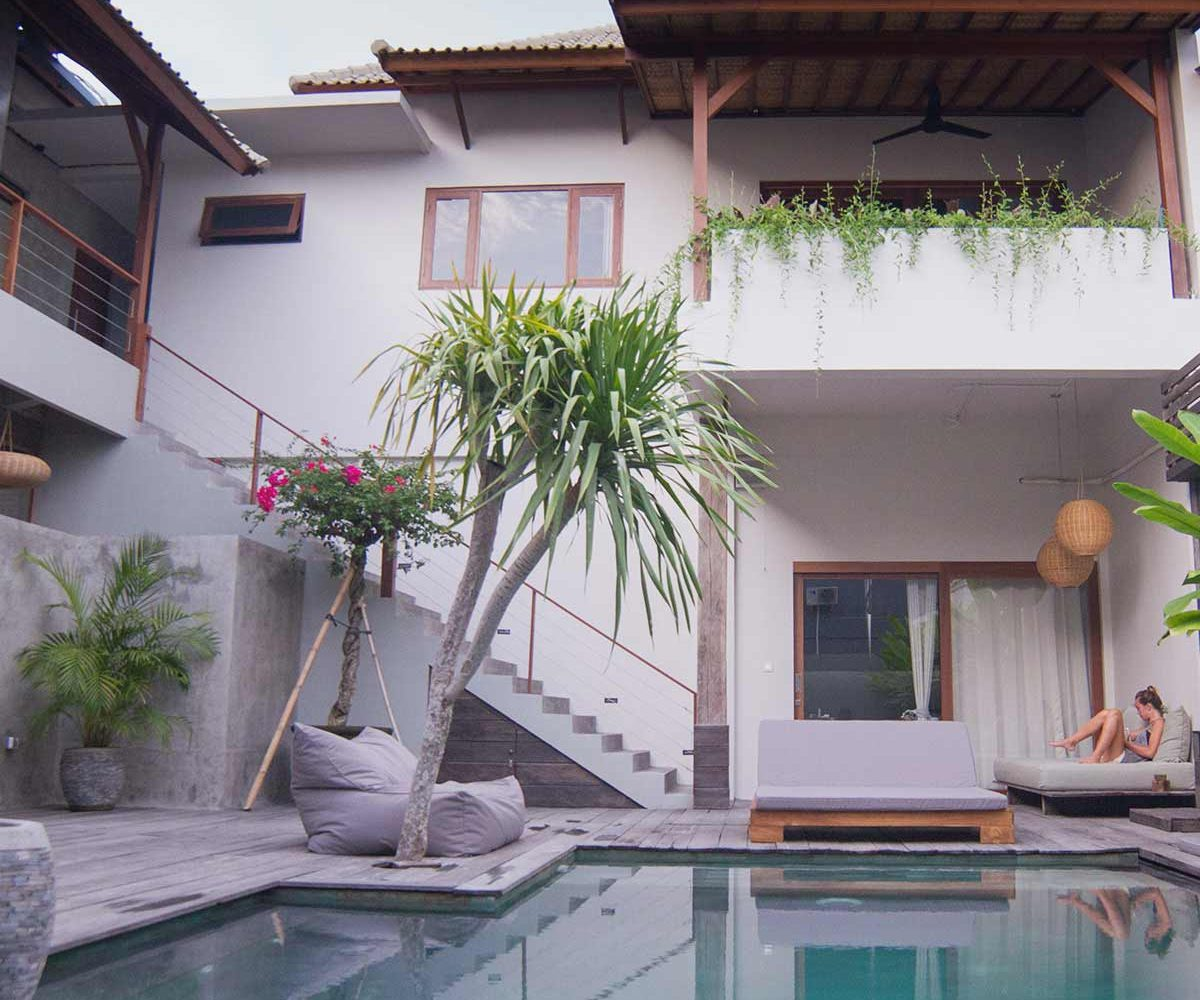 Surfers accommodation Bali