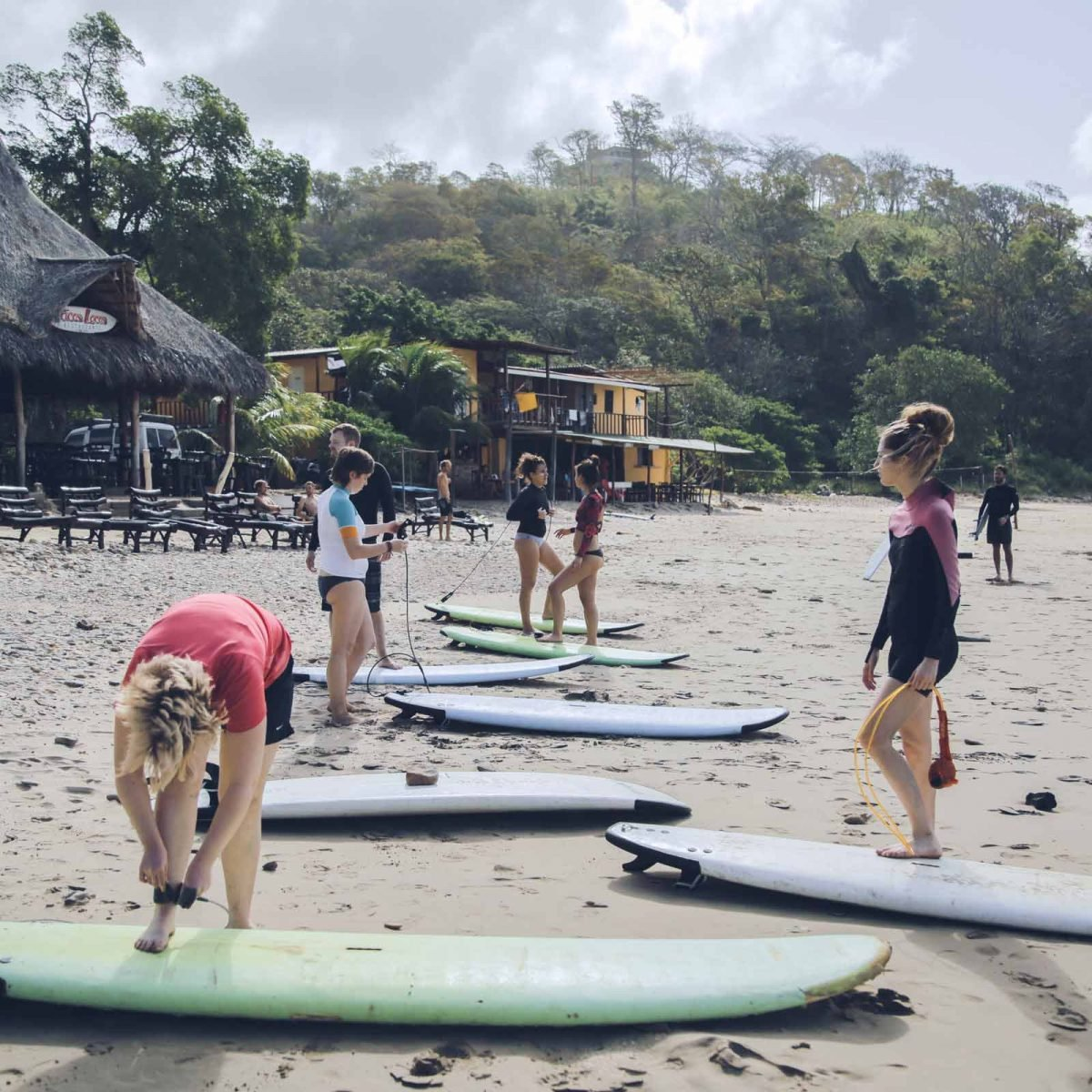 Surf Classes playa Maderas