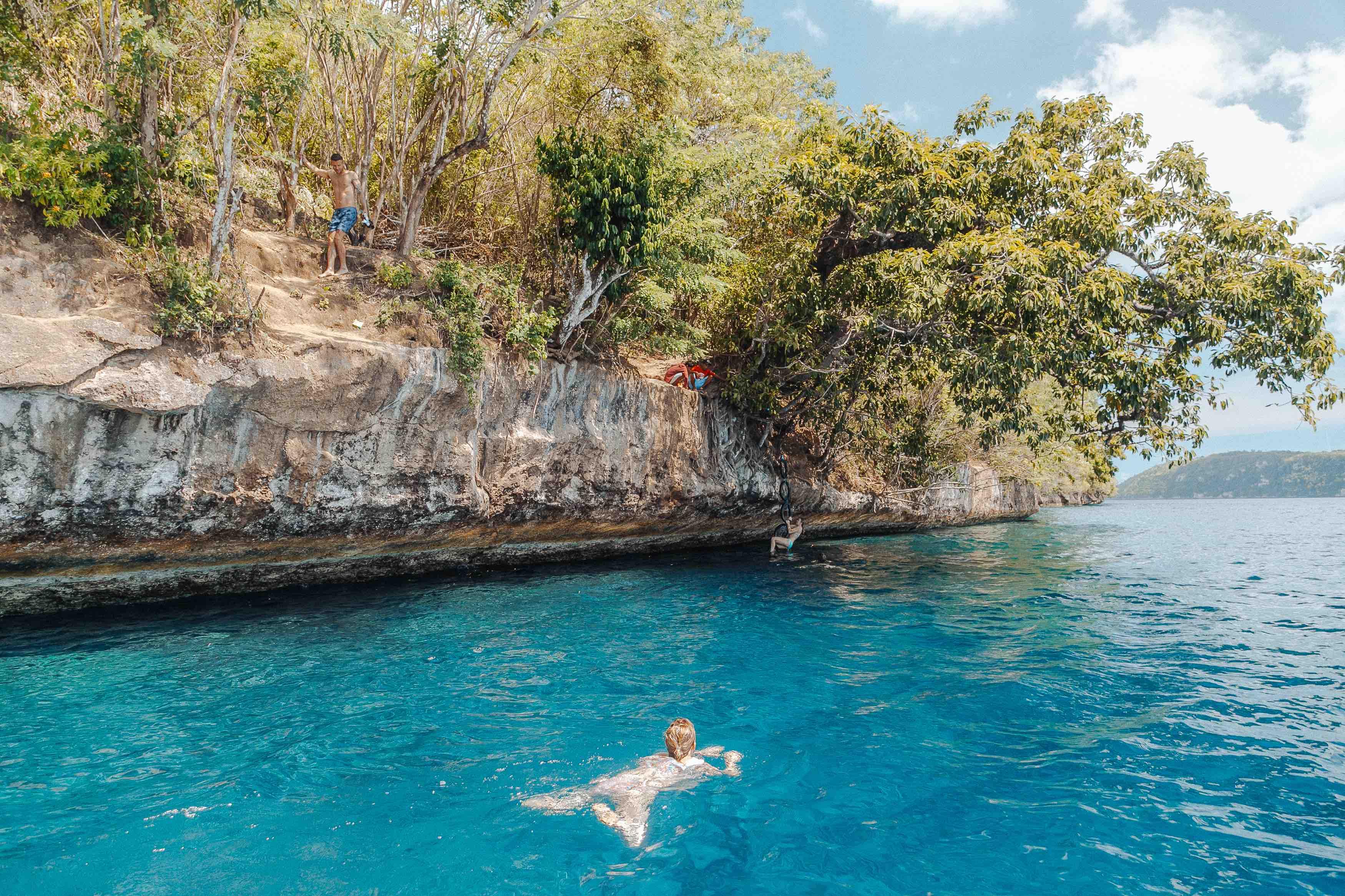 Snorkeling Cliff Jump Nusa Penida Adventure