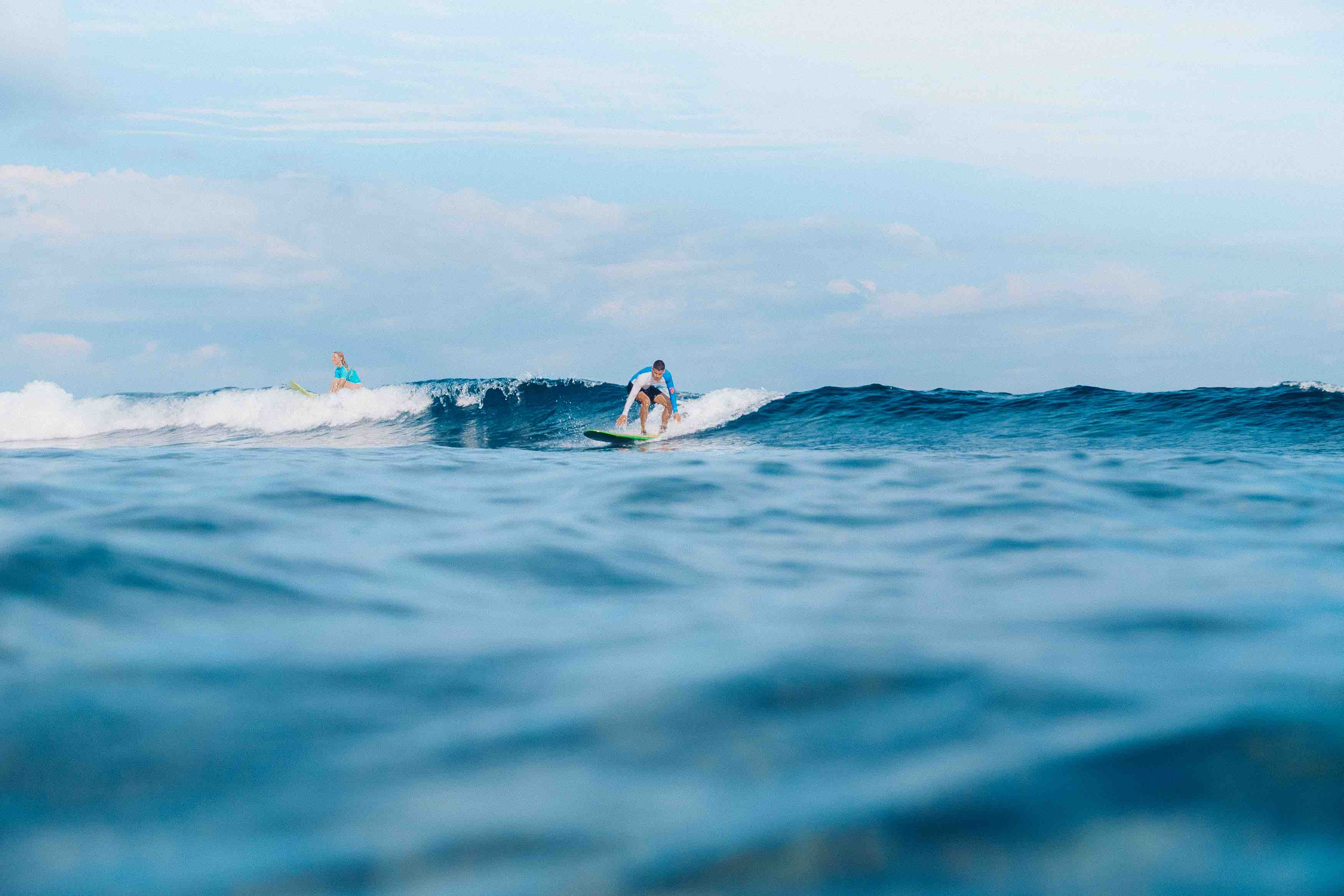 Learn To Surf Lembongan