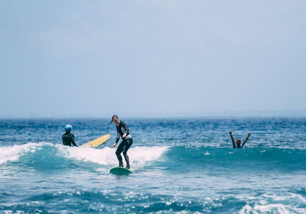 Indonesia Beginner Surfer