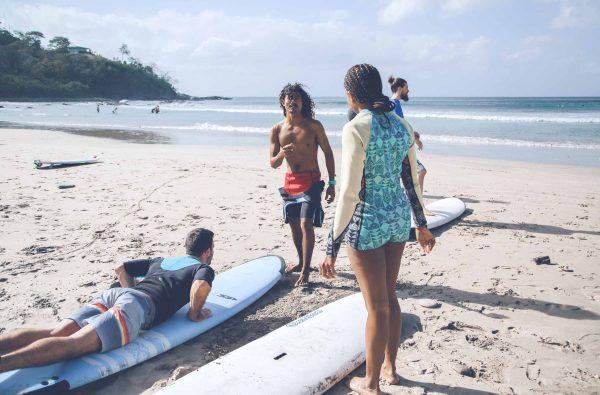 Surf Classes Maderas beach Nicaragua