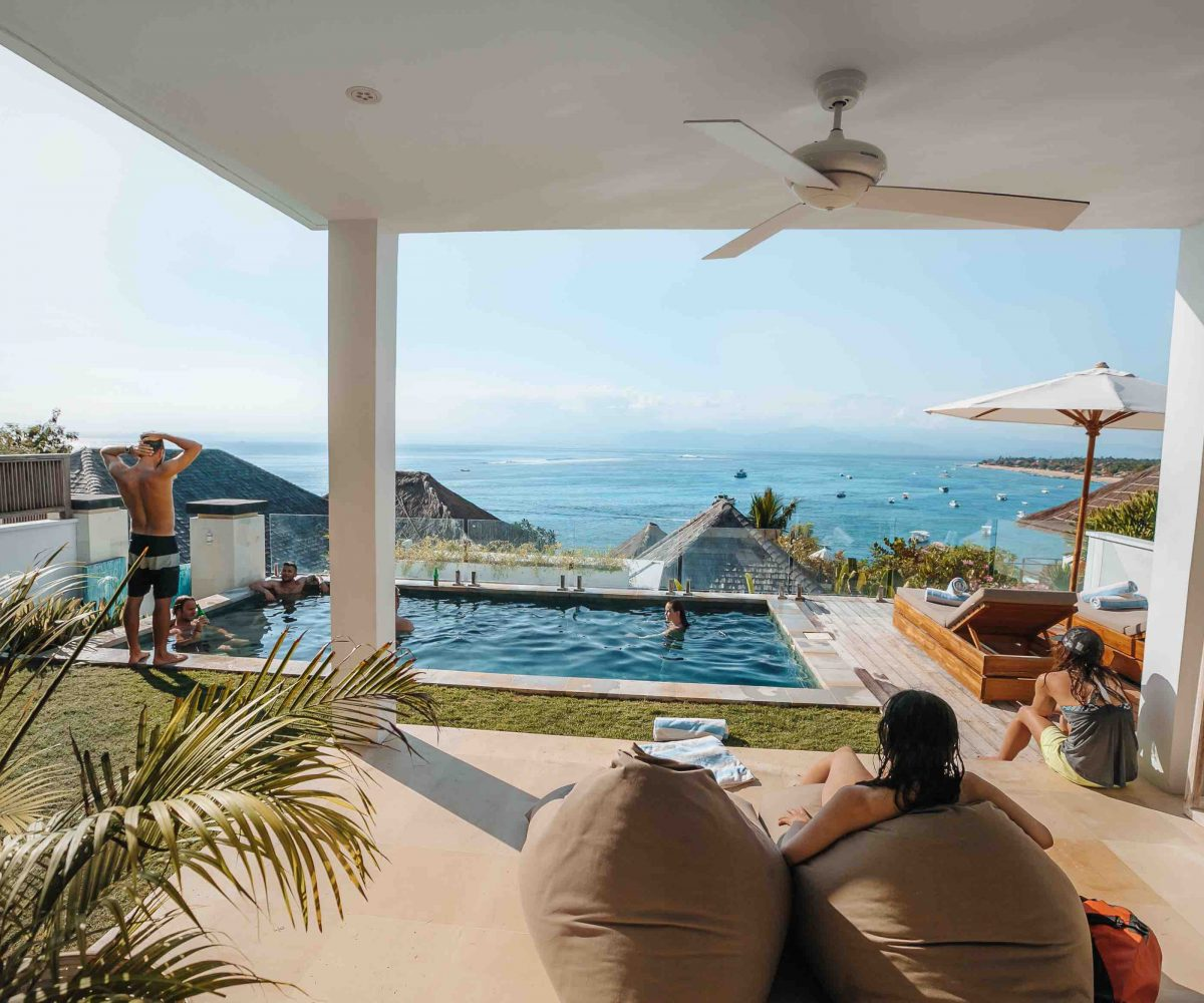 Villa Surf Camp Lembongan Bali