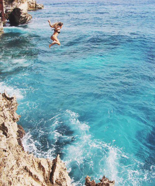 Cliff Jumping Nusa Lembongan