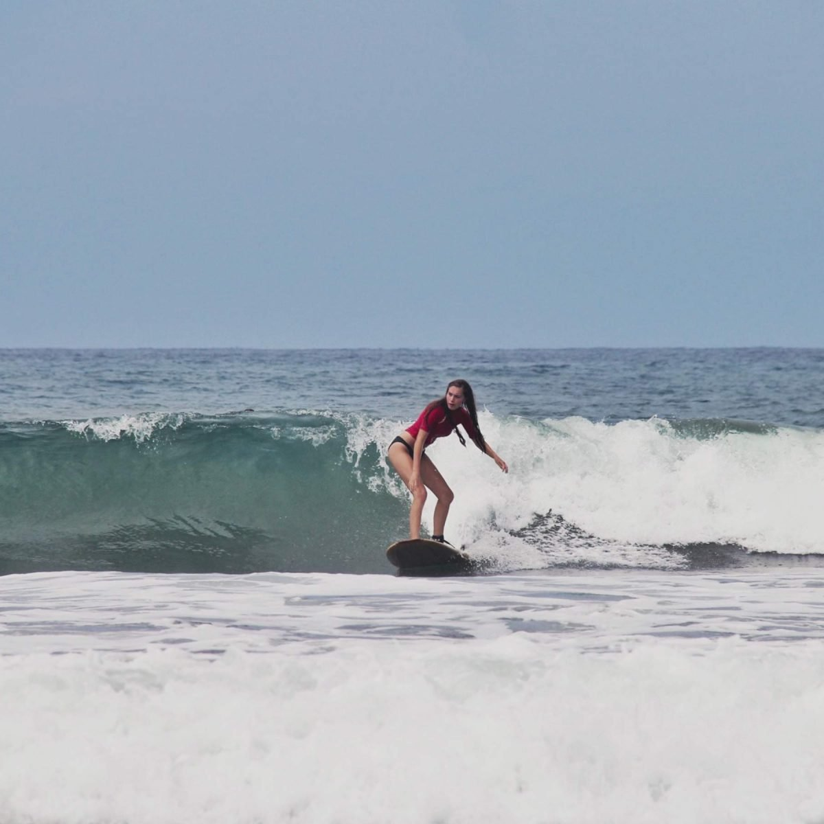 Learning to Surf in Ayampe