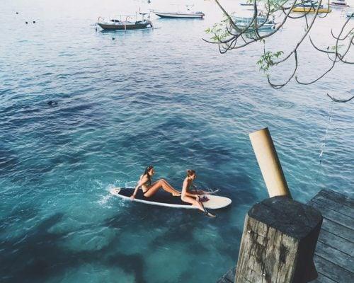 PaddleBoard in Nusa Lembongan