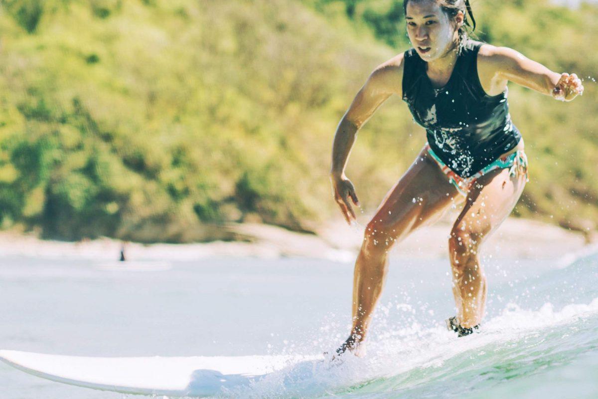 Surfing remanzo beach Nicaragua