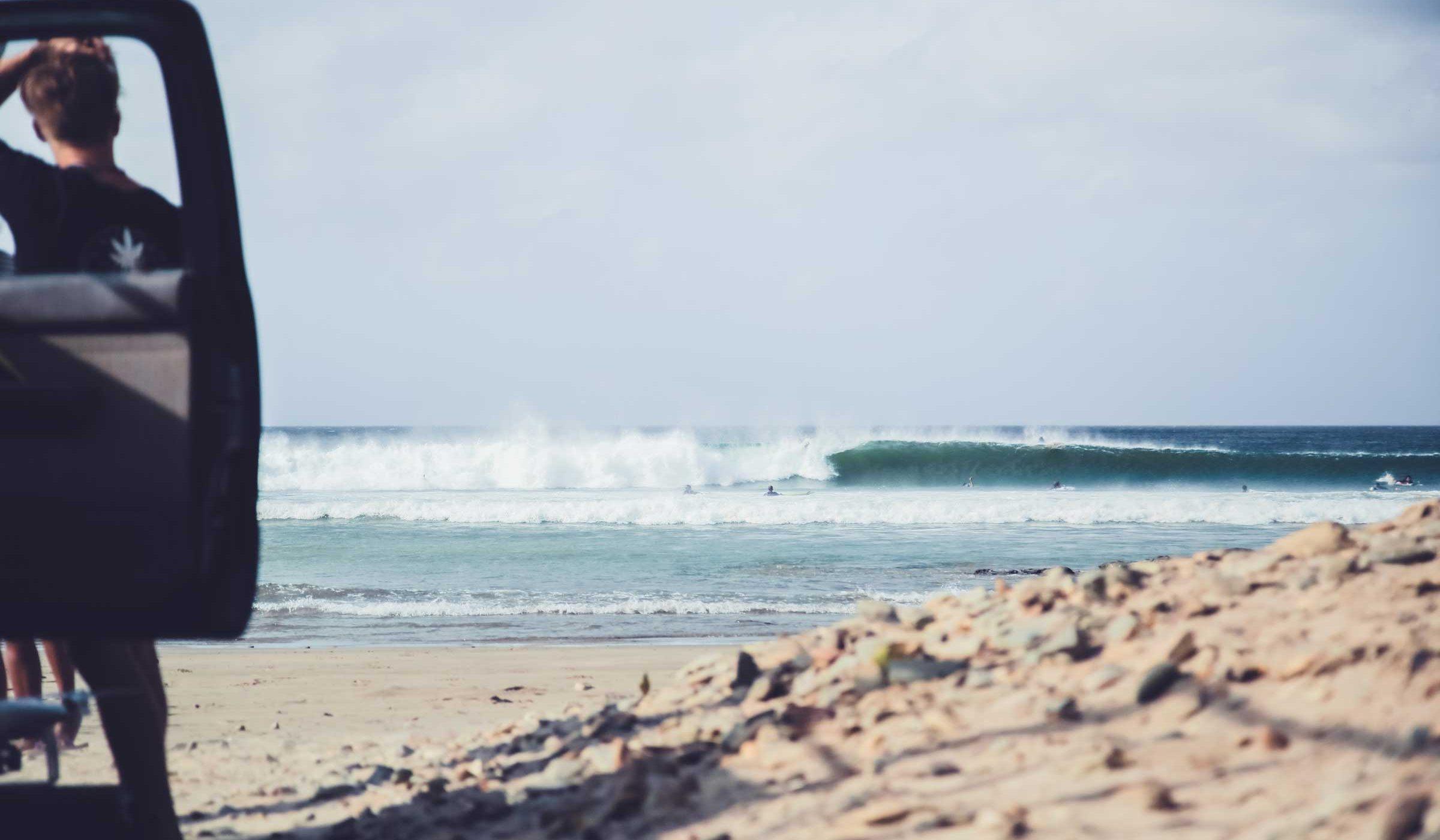 Nicaragua waves