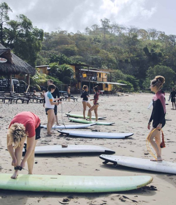 Surf Classes playa Maderas