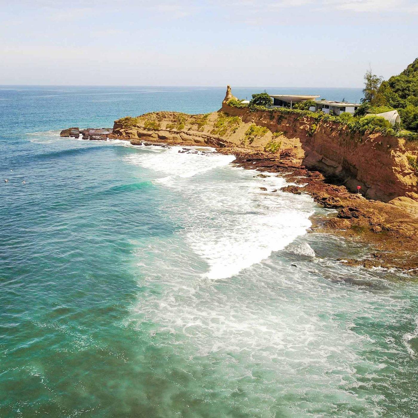 Surf Landscape Travel Ecuador
