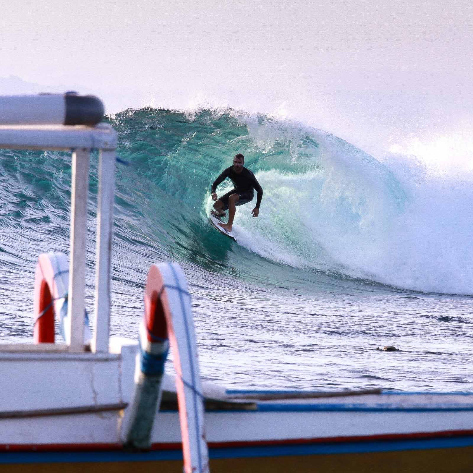 Alex Vassilatos Swallow Tail Laceration Lembongan