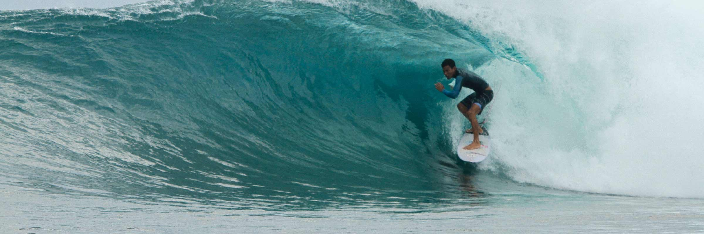 Shortboard Agus Lembongan Laceration