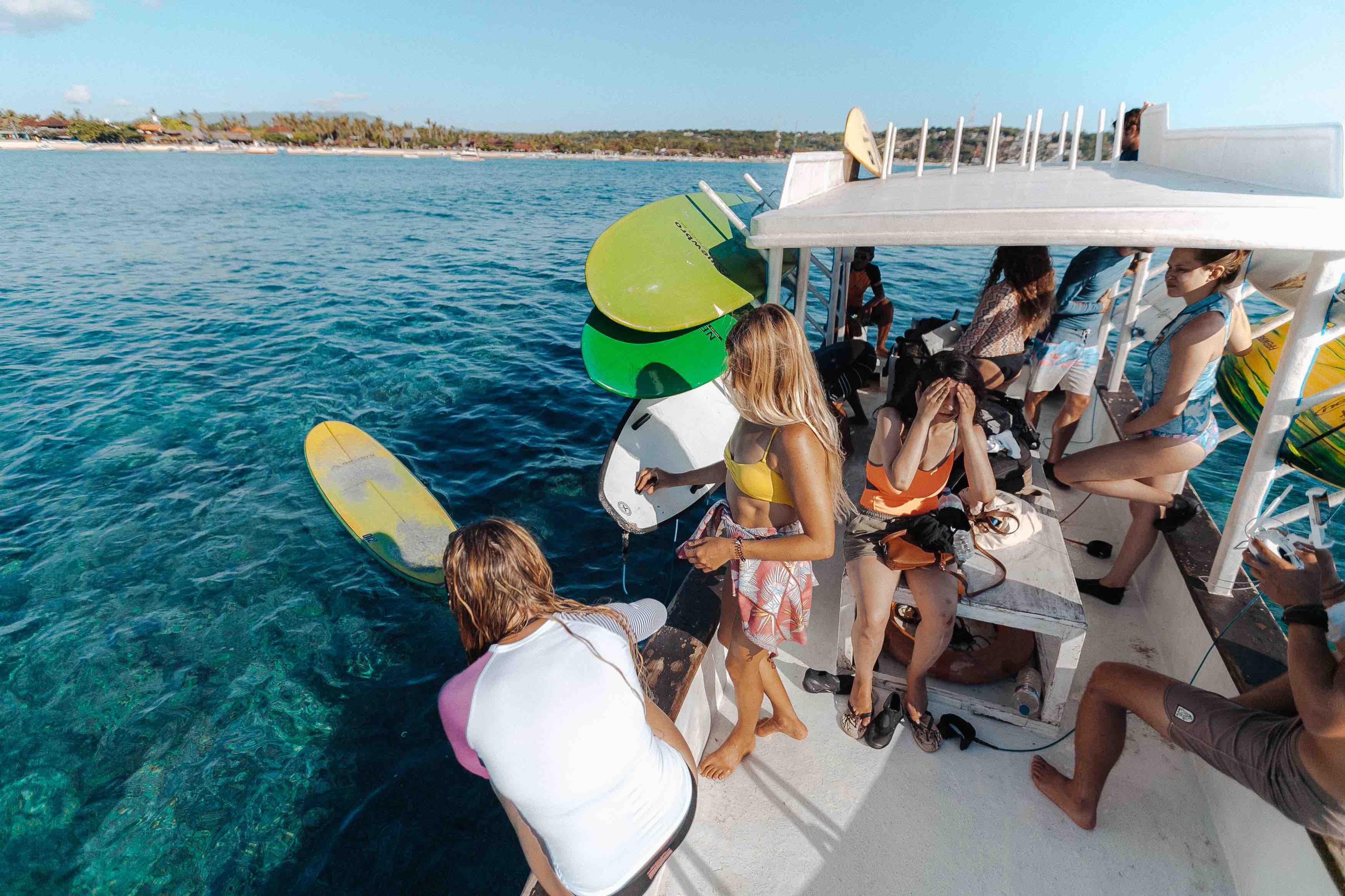 Boat Surf Class Lembongan