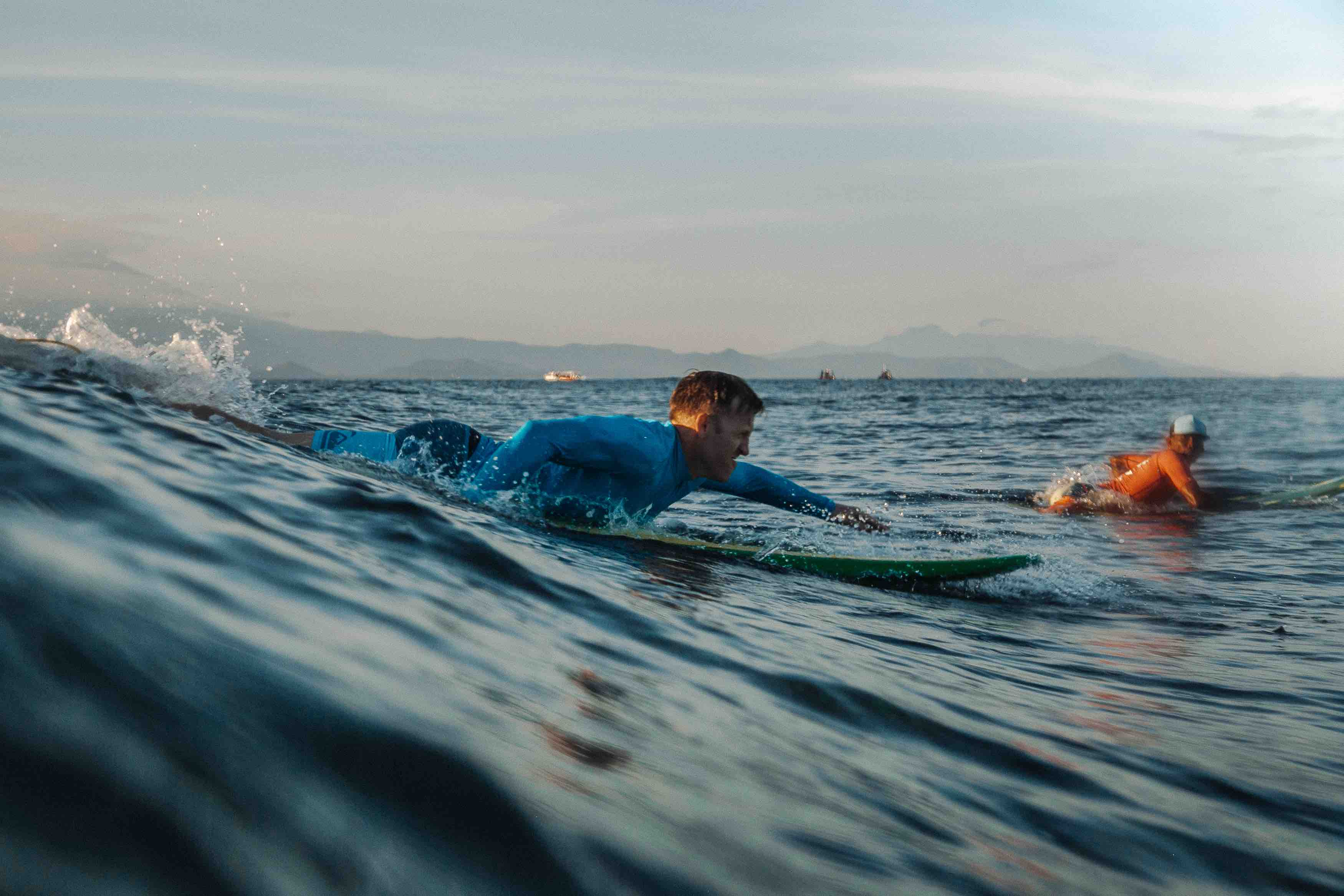 Learn to Surf Lembongan Bali