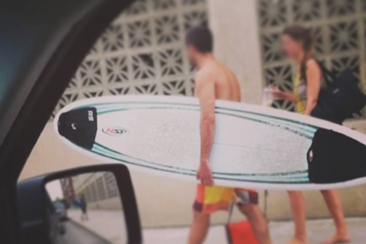 Double Tail Pad Surf