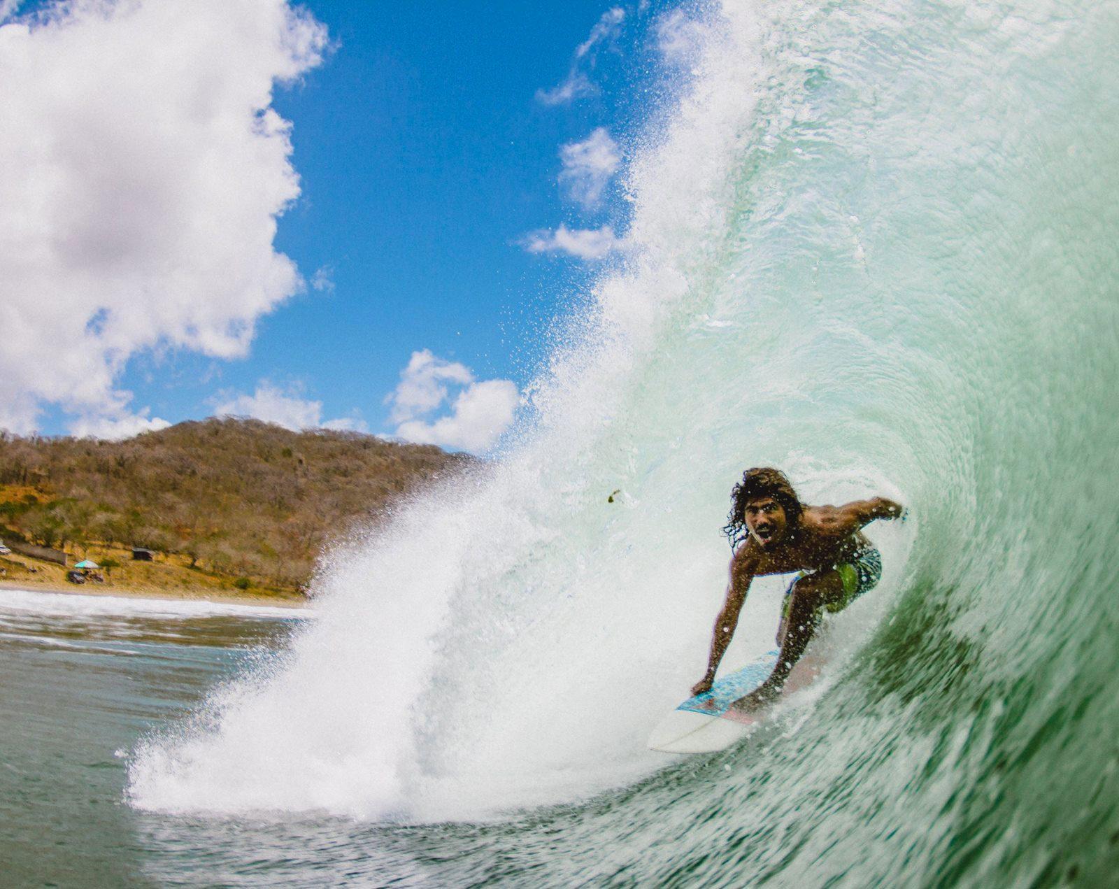 Rex surfer nicaragua