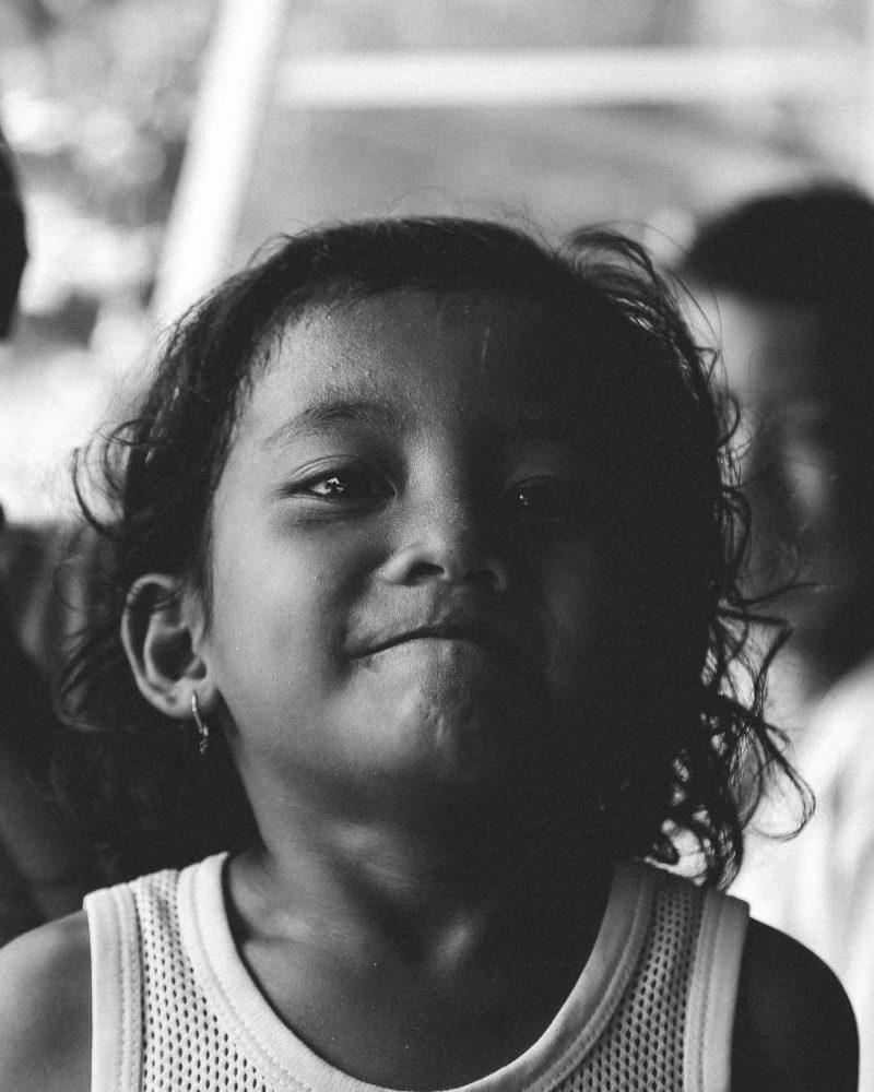 Indonesian kids Mentawais