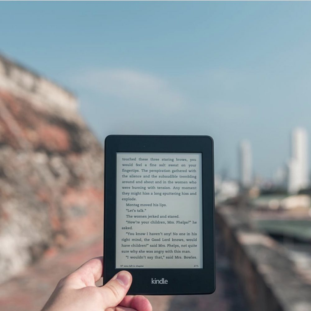 E-reader Kindle for Travel
