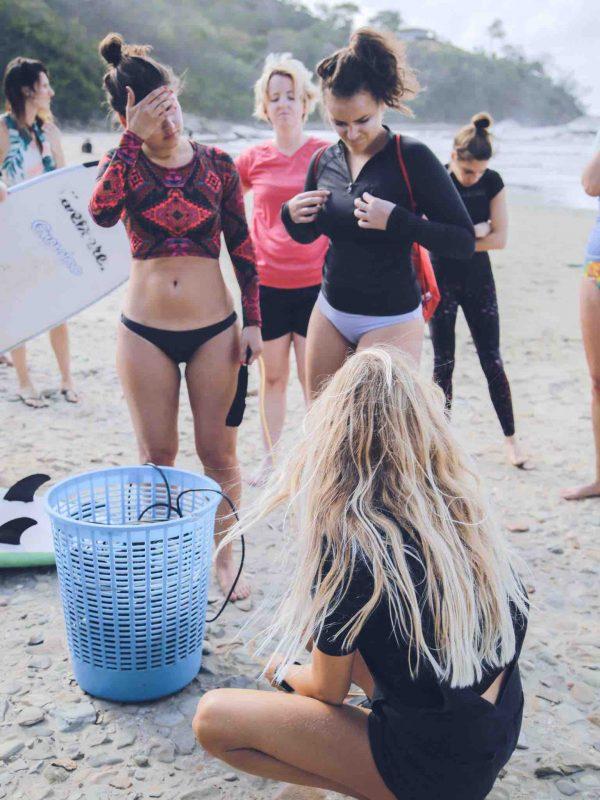 Naomi Bishop Surf Coach