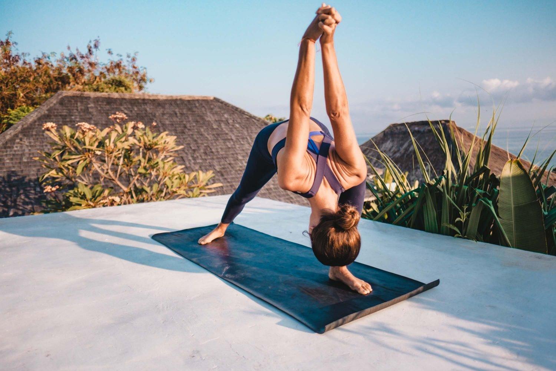 Sally Rubin Pre-Surf Yoga