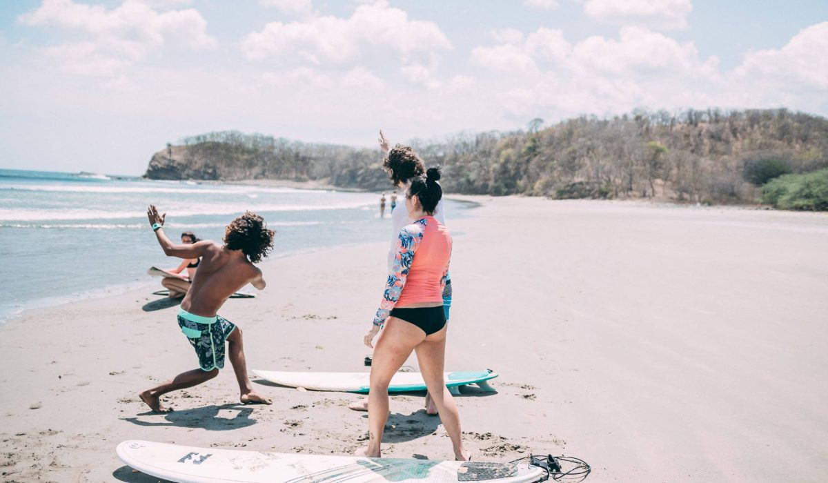 Personalized Surf coaching