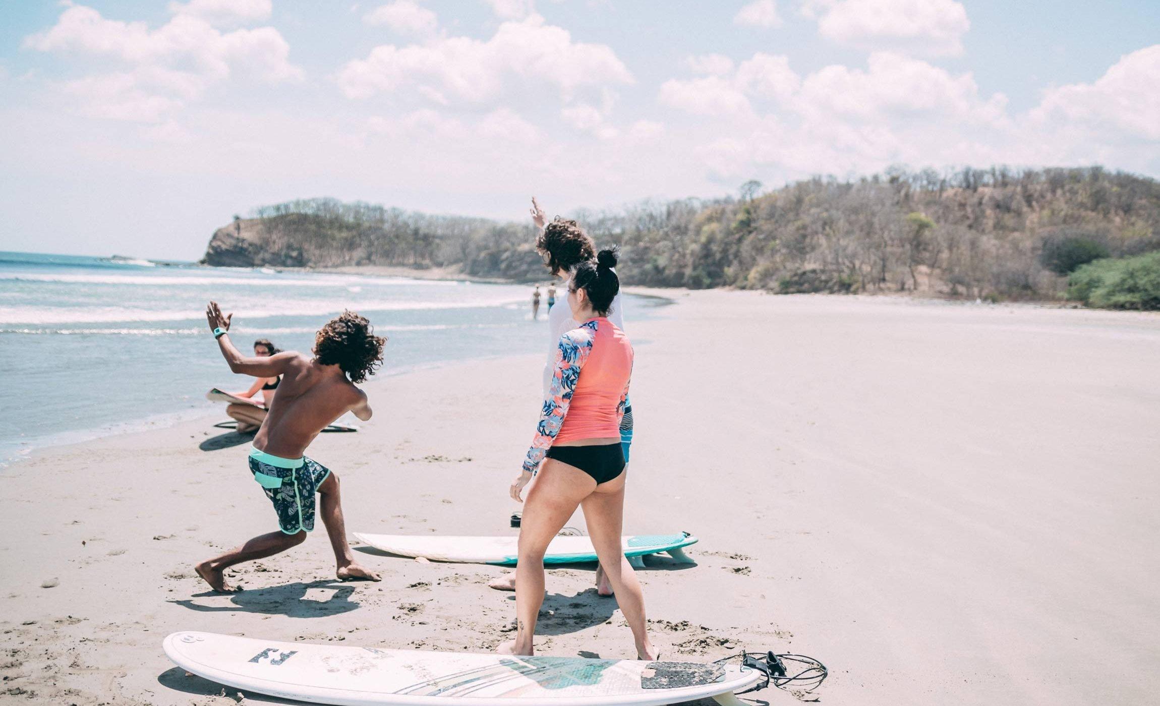 Nicaragua Surf coaching