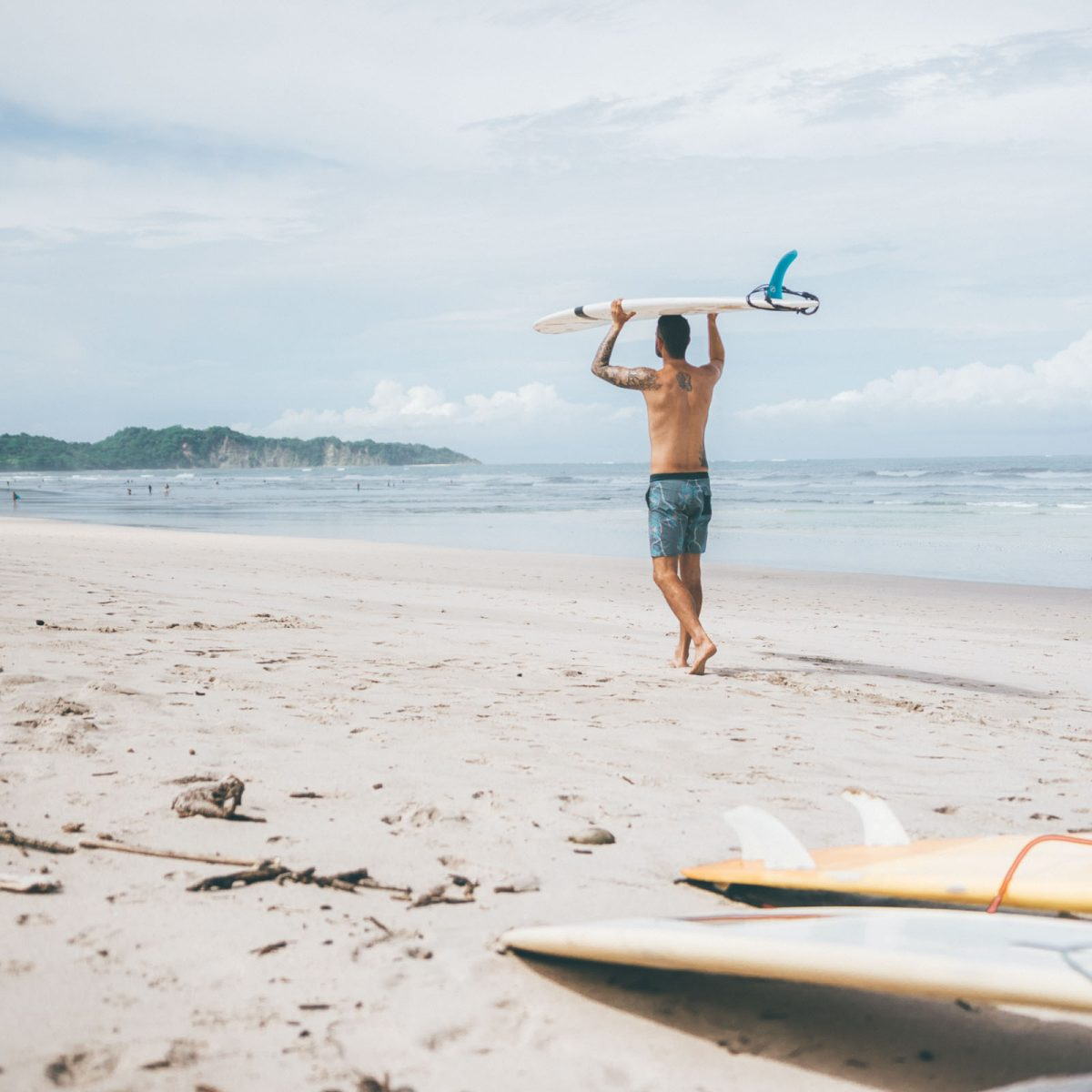 Learn to surf Costa Rica (Beginner)