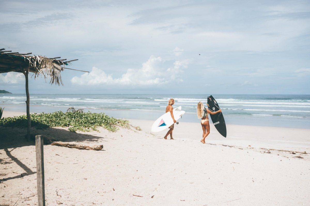 Nosara Surfers Costa Rica Beach