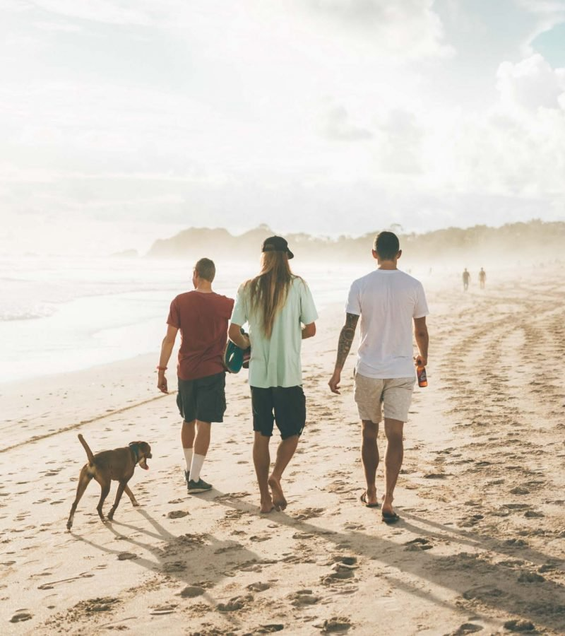 Sunset Walk Nosara Beach