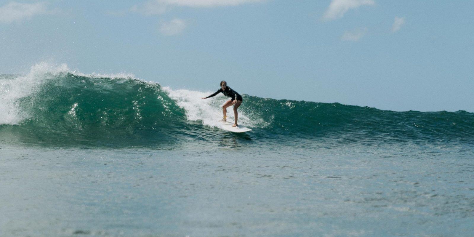 Surfer Maderas Nicaragua