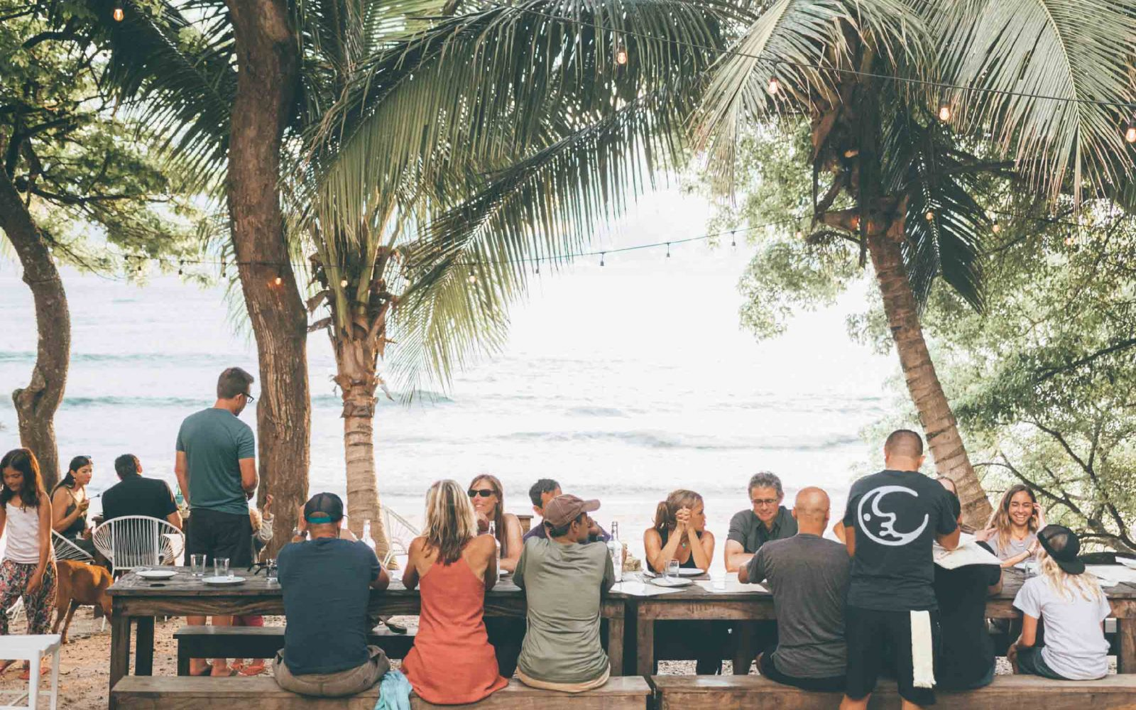 Surf Camp Restaurant Costa Rica