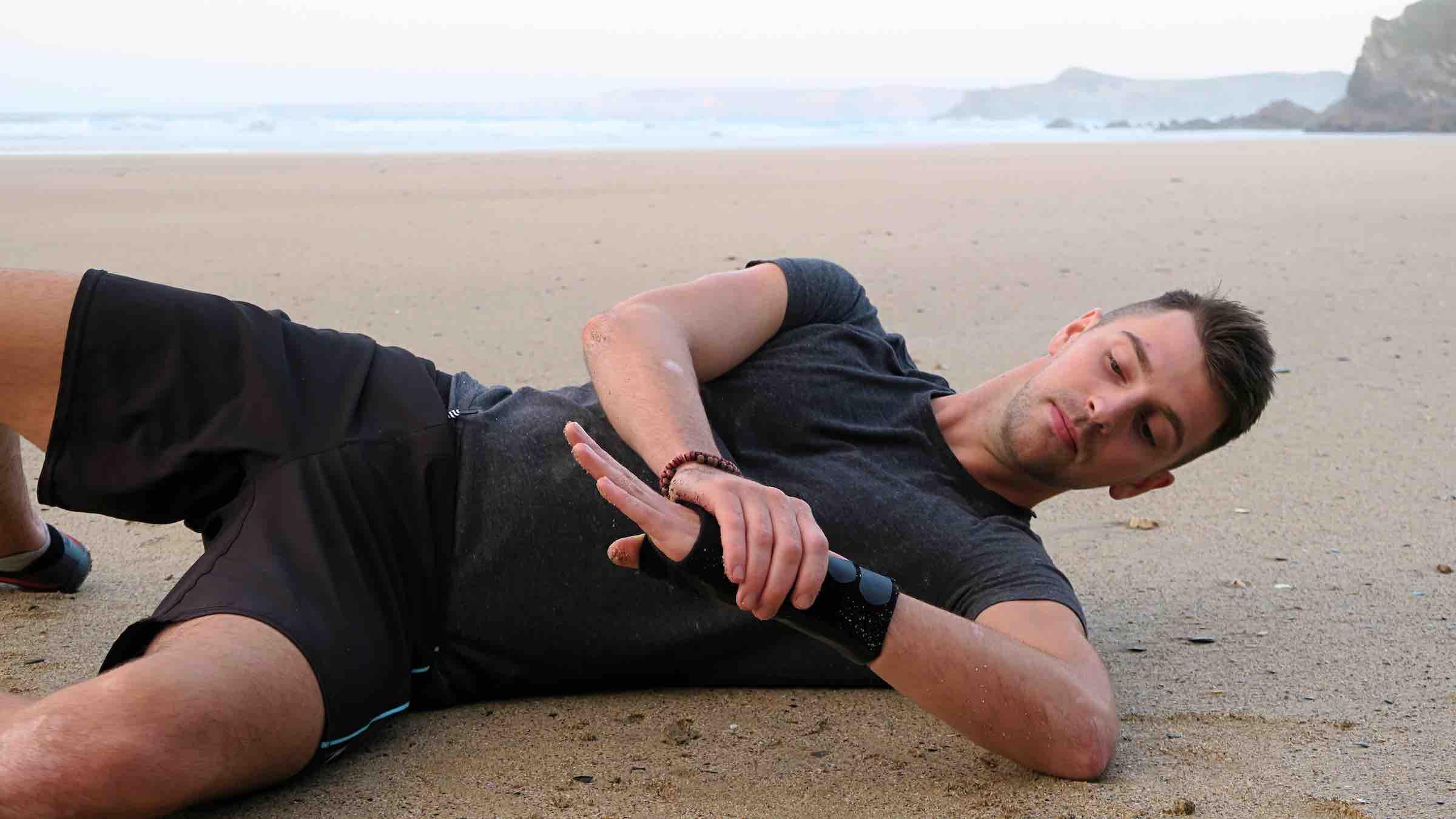 Luke Jones Sleeper Stretch