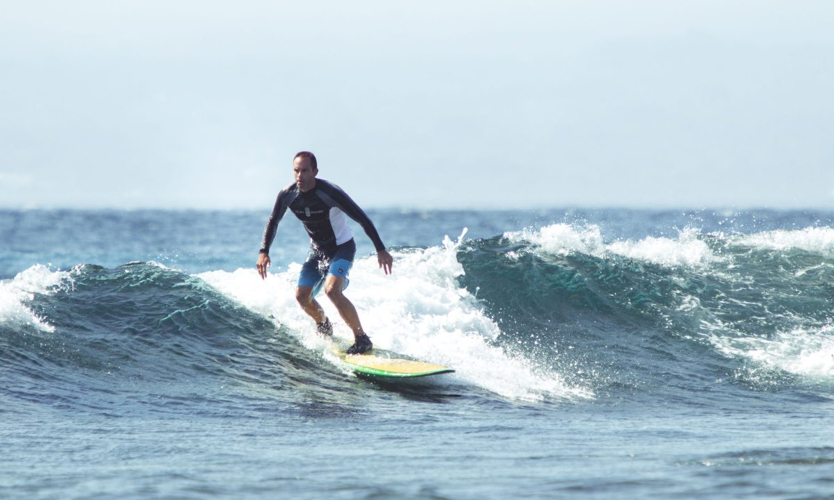 You have never surfed and want to learn how to surf You have basic surf experience (4 years or -) You want to progress & surf the best suitable spots for your level You're looking for tropical weather and surf spots suitable for every surf level.