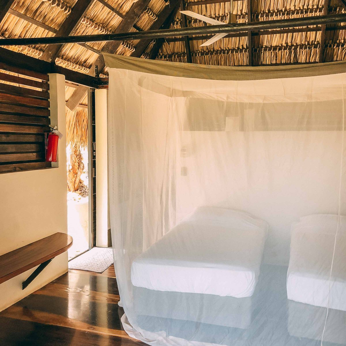 Cabana 1 -surf coaching accommodation maderas inside