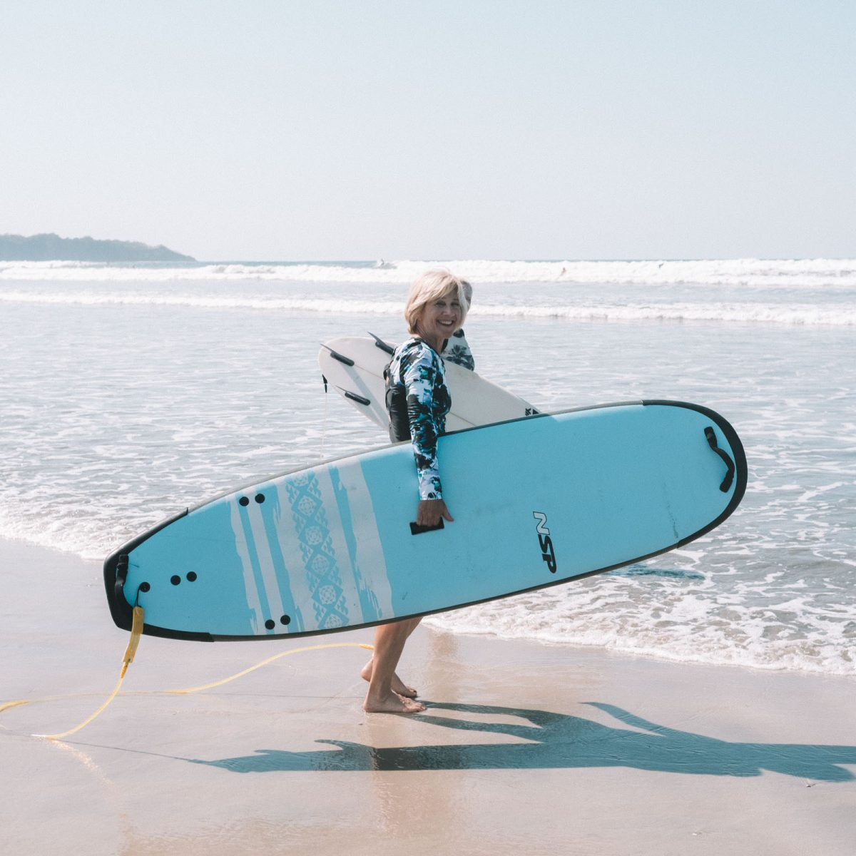 Surfer Guiones Beach
