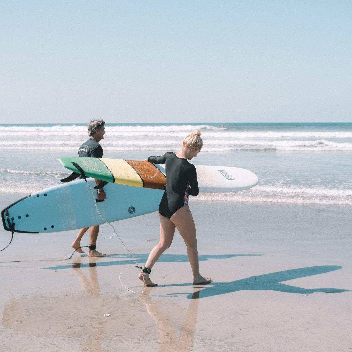 Surfers Nosara