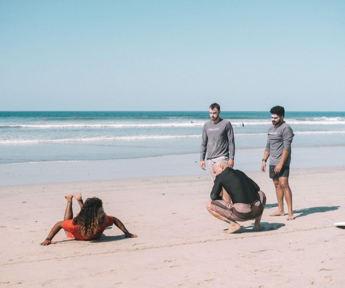 Surf Coaching Camp