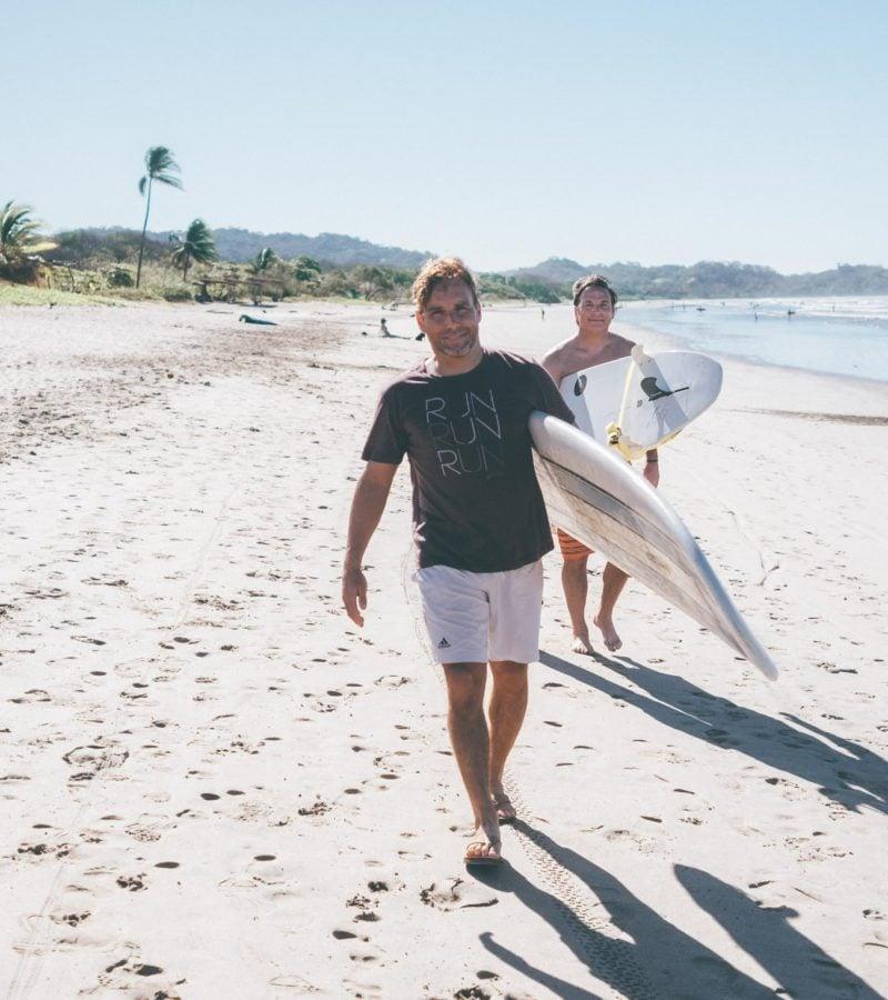 Marcel Barefoot Surf Travel Nosara
