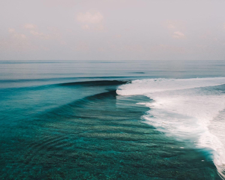 Maldives Surf Waves Beach