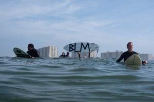 Surf Protest Black Live Matters
