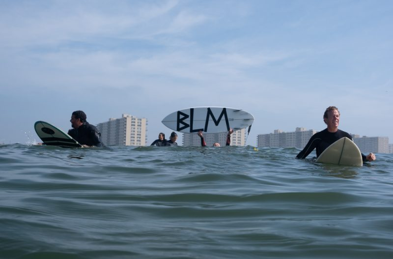 Surf Protest Black Live Matters